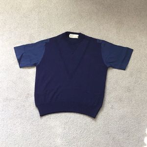 Claude Montana Vintage Navy Shirt